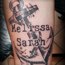 anchor scratch style tattoohütte spraitbach