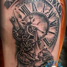 time tattoo schütze